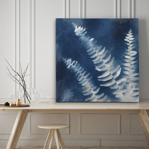Nature's Indigo IV - Premium Gallery Wrapped Canvas - 4 Sizes Available
