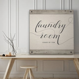 Laundry Room - Premium Gallery Wrapped Canvas - 4 Sizes Available
