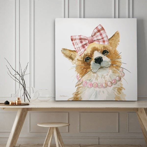 Glamour Girls Fox - Premium Gallery Wrapped Canvas - 4 Sizes Available