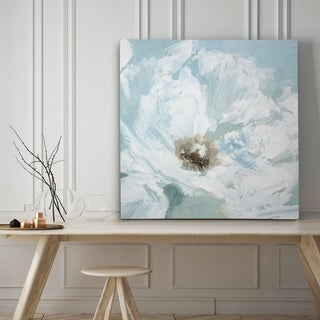 Single Poppy I - Premium Gallery Wrapped Canvas - 4 Sizes Available