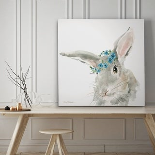 Glamour Girls Rabbit - Premium Gallery Wrapped Canvas - 4 Sizes Available