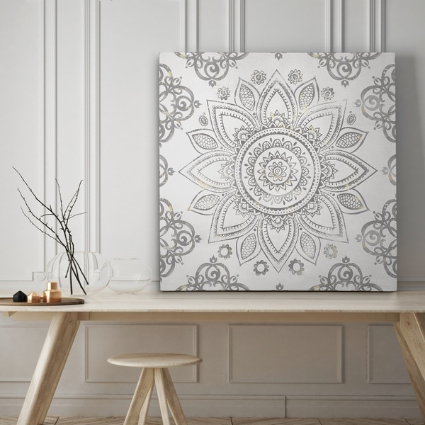 Mandala Sunburst - Premium Gallery Wrapped Canvas - 4 Sizes Available