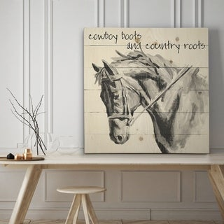 Country Roots - Premium Gallery Wrapped Canvas - 4 Sizes Available