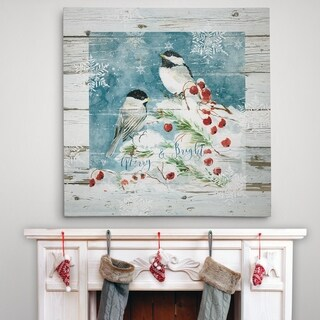 Merry and Bright - Premium Gallery Wrapped Canvas - 4 Sizes Available