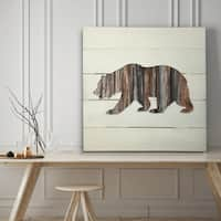 Woodland Bear - Premium Gallery Wrapped Canvas - 4 Sizes Available