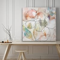 Floral Flow I - Premium Gallery Wrapped Canvas - 4 Sizes Available