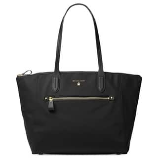 63ad102863b Buy Black Michael Kors Tote Bags Online at Overstock.com   Our Best ...