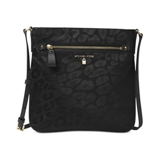 Michael Kors Kelsey Black Large Crossbody Handbag