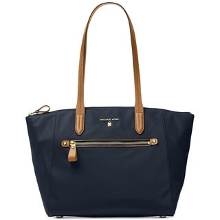 MICHAEL Michael Kors Kelsey Medium Top-Zip Tote (Admiral)