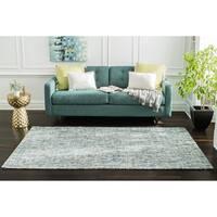 Jani Oshi Blue/Grey Wool Blend Rug - 8' x 10'