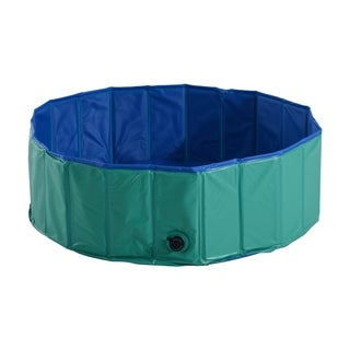 Pawhut Foldable PVC Pet Swimming Pool or Bathtube For Dogs and Cats