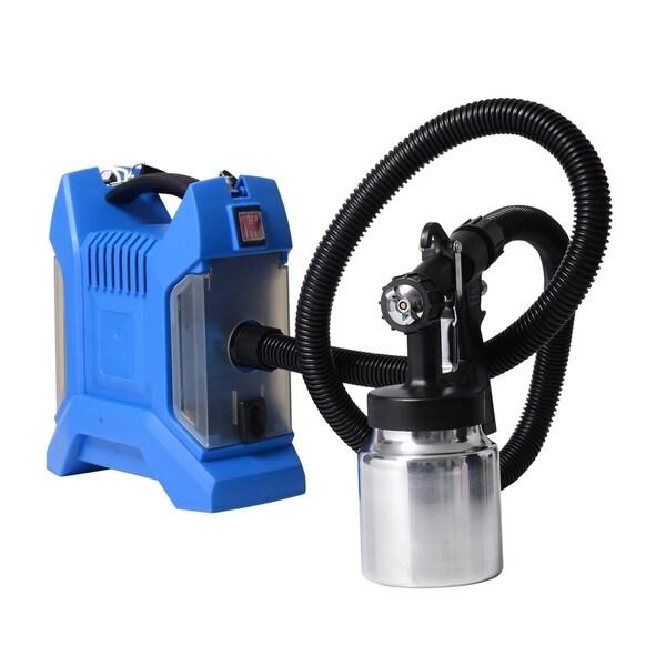 HomCom Electric Paint Sprayer Spray Kit - Blue