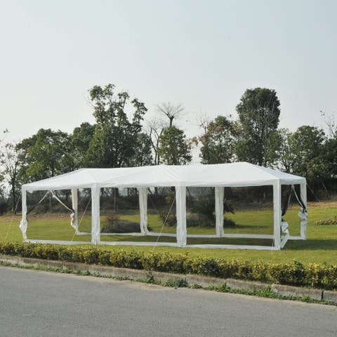 Outsunny 10' x 30' Gazebo Tent
