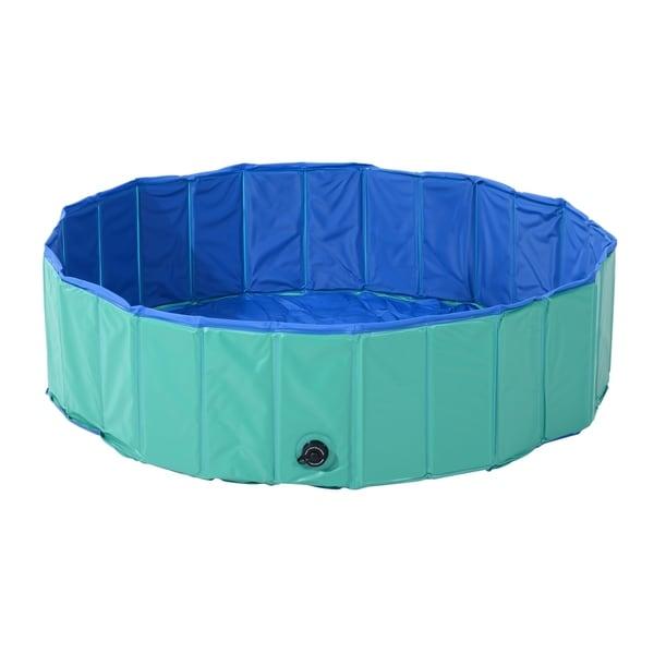 Shop Pawhut Foldable PVC Pet Swimming Pool - On Sale - Ships To ...