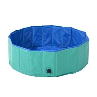Pawhut Foldable PVC Pet Swimming Pool