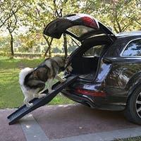 Pawhut Portable Folding Mobility Dog Ramp