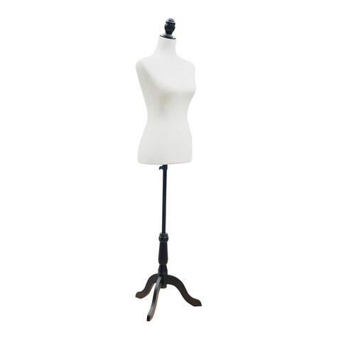 HomCom Fashion Mannequin Female Dress Form with Base