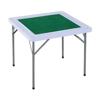HomCom Folding Card Table with Cupholders|https://ak1.ostkcdn.com/images/products/18041487/P24207128.jpg?impolicy=medium
