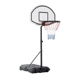 Aosom Height Adjustable Portable Poolside Basketball Hoop