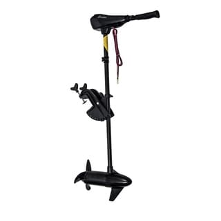 Outsunny 12V Transom Mounted Electric Fishing Boat Trolling Motor - Black