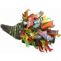 Fall Cornucopia Candy Bouquet