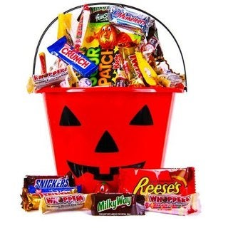 Halloween Goodies Candy Gift Baske