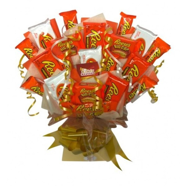 Deluxe Reese's Extravaganza Bouquet. Opens flyout.