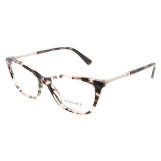 Versace Cat Eye VE 3248 5253 Womens Pink Havana Frame Eyeglasses