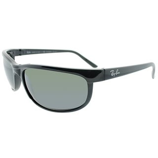 Ray-Ban Sport RB 2027 601/W1 Unisex Black Frame Grey Mirrord Polarized Lens Sunglasses