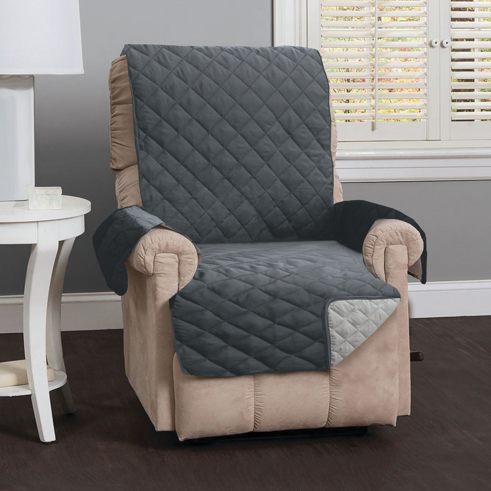 Delicieux Home Fashion Designs Kaylee Collection Quilted Reversible Recliner Protector