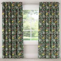 Skyline Frolic Evergreen Window Curtain Panel