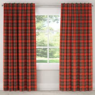 Skyline Plaid Window Curtain Panel|https://ak1.ostkcdn.com/images/products/18041918/P24207426.jpg?impolicy=medium