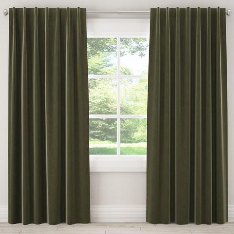 Skyline Velvet Window Curtain Panel
