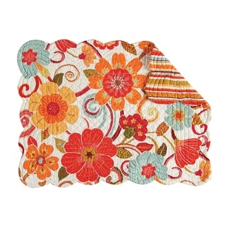 Giselle Quilted Rectangular Placemat Set of 6