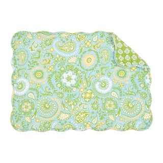 Zoe Quilted Rectangular Placemat Set of 6