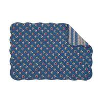 Olivia Quilted Rectangular Placemat Set of 6