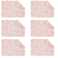 Brighton Cotton Quilted Oblong Placemat Set of 6
