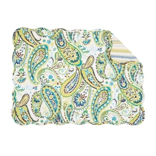 Emily Quilted Rectangular Placemat Set of 6