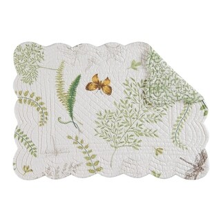 Althea Quilted Rectangular Placemat Set of 6