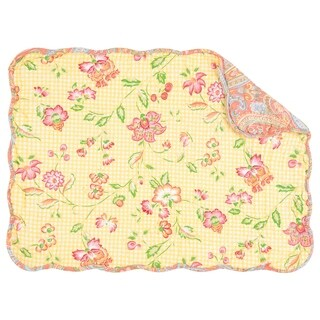 Leah Quilted Rectangular Placemat Set of 6
