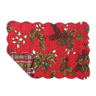 Kellyn Quilted Rectangular Placemat Set of 6