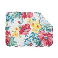 Camila Quilted Rectangular Placemat Set of 6
