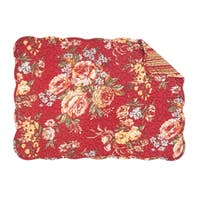 Claire Quilted Rectangular Placemat Set of 6