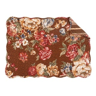 Sophia Quilted Rectangular Placemat Set of 6