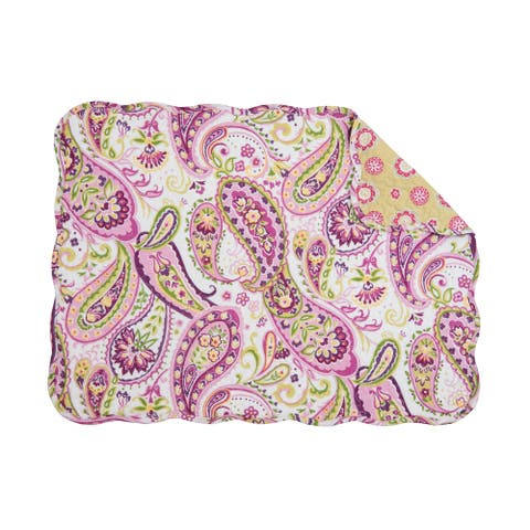 Ariana Quilted Rectangular Placemat Set of 6