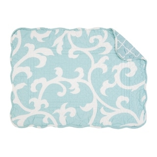 Ellie Quilted Rectangular Placemat Set of 6