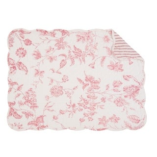 Lydia Quilted Rectangular Placemat Set of 6