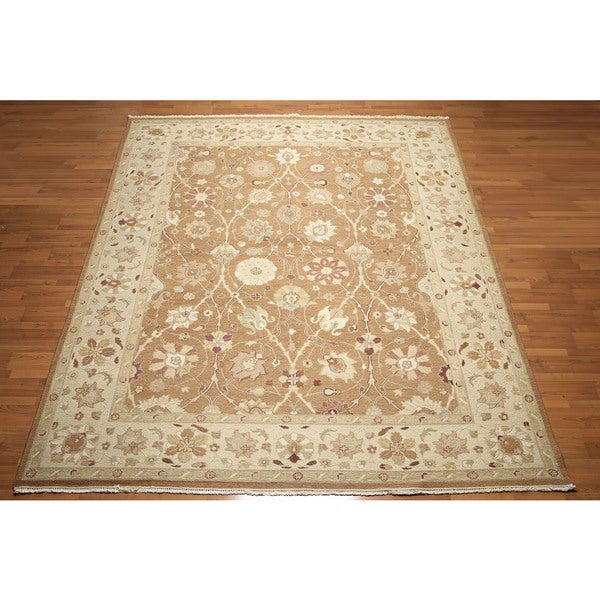 "Reversible Pure Wool Soumak Nourmak Hand Knotted Persian Oriental Area Rug (9'2""x12'1"")"