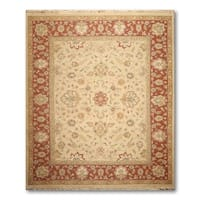 Traditional Soumak Nourmak Hand Knotted Reversible Persian Oriental Area Rug  (8'x10')