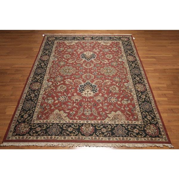 Pure Wool Soumak Nourmak Reversible Persian Oriental Area Rug - multi